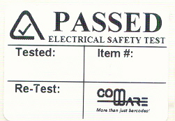 Electrical Label 4028