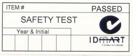 Electrical Label 10236