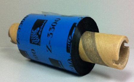 ZWR 57mm x 74m Zebra Wax Resin Ink Out Thermal Transfer Ribbon