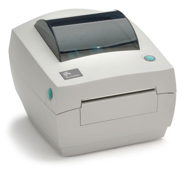 Zebra GC420D Direct Thermal USB Desktop Label Printer