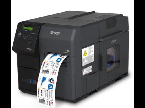 epson colorworks c7500 inkjet label printer idmart barcode label rfid solutions
